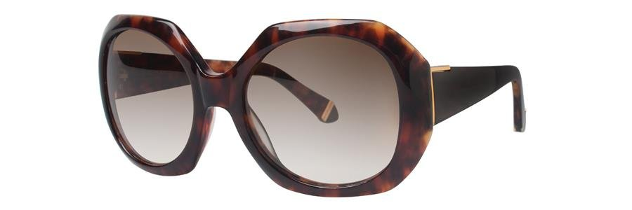 Zac Posen INGRID Brown Sunglasses Size54-19-135.00
