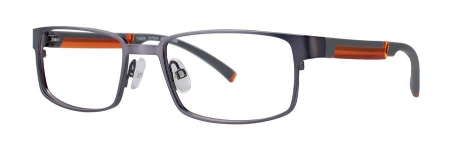 Timex INTERCEPTION Gunmetal Eyeglasses Size52-17-135.00