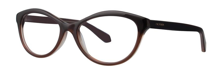 Zac Posen IRENE Chocolate Eyeglasses Size50-17-130.00