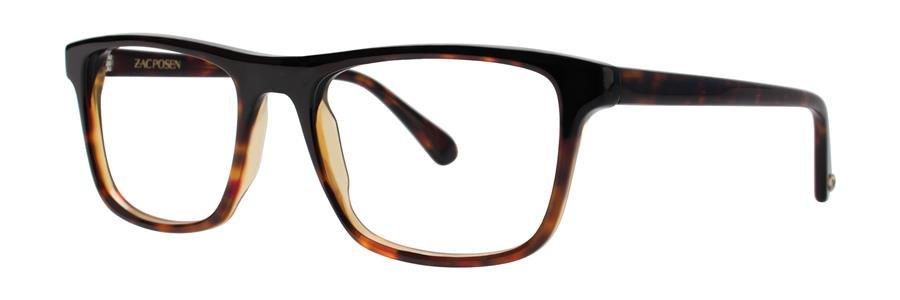 Zac Posen JACQUES Black Eyeglasses Size52-18-140.00