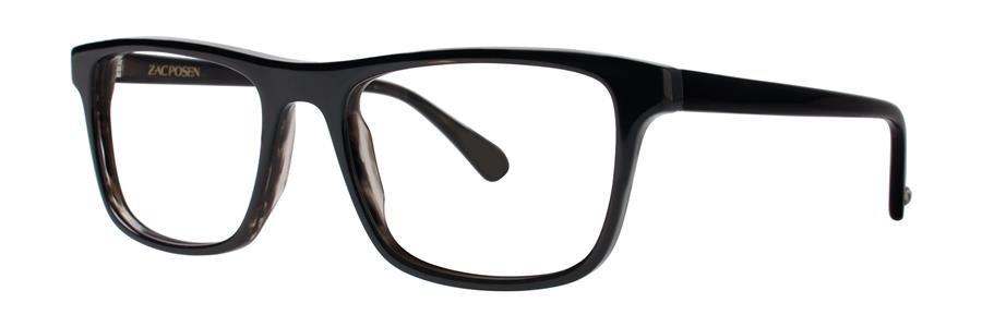 Zac Posen JACQUES Noir Eyeglasses Size52-18-140.00
