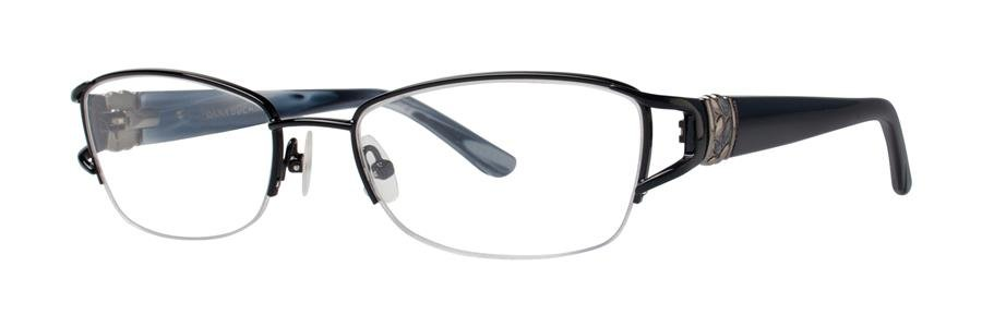 Dana Buchman JANNAH Black Eyeglasses Size51-17-132.00