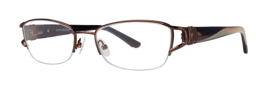 Dana Buchman JANNAH Brown Eyeglasses Size53-17-136.00