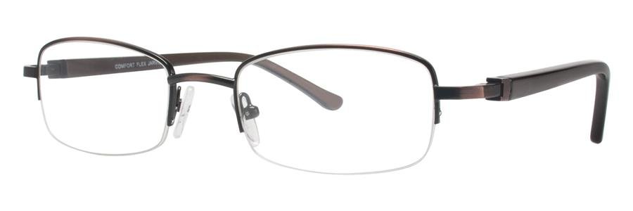 Comfort Flex JARVIS Brown Eyeglasses Size53-20-140.00