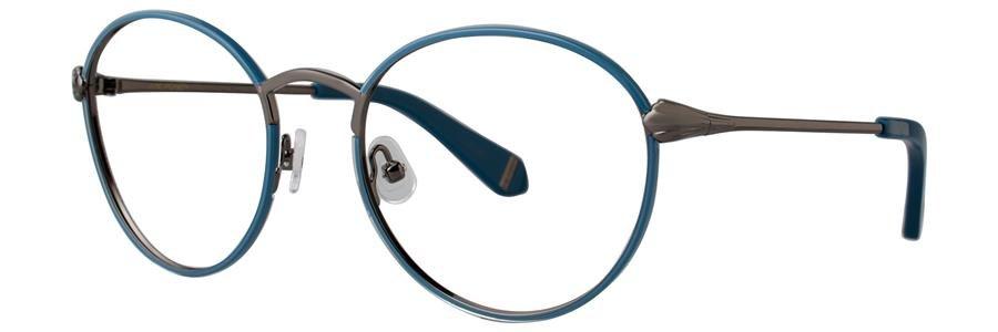 Zac Posen JOAN JULIET Navy Eyeglasses Size52-20-135.00