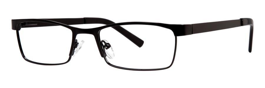 Gallery JONES Black Eyeglasses Size52-17-135.00