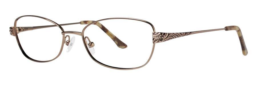 Dana Buchman JUSTINE Brown Eyeglasses Size52-16-135.00