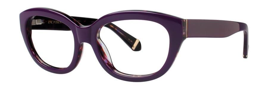 Zac Posen KATHARINE Purple Eyeglasses Size52-18-135.00