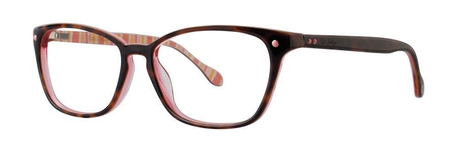 Lilly Pulitzer KINGSLEY Tortoise Eyeglasses Size49-15-135.00