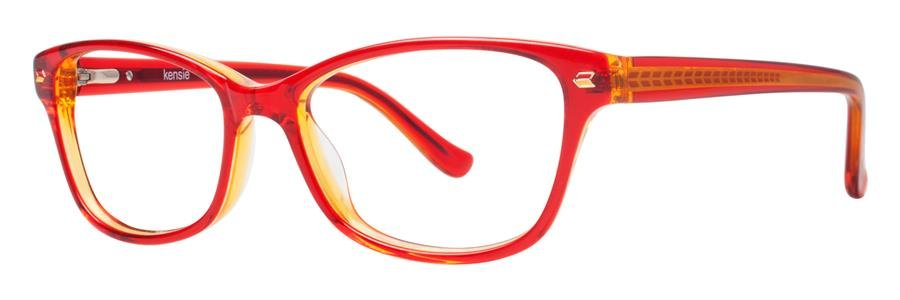 kensie KISS Red Eyeglasses Size49-15-130.00