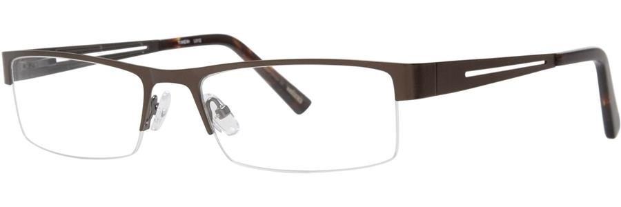 Timex L012 Brown Eyeglasses Size56-18-137.00