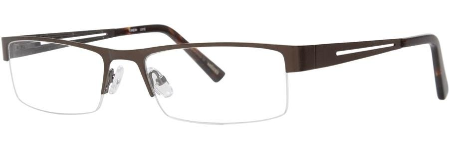 Timex L012 Brown Eyeglasses Size58-18-142.00