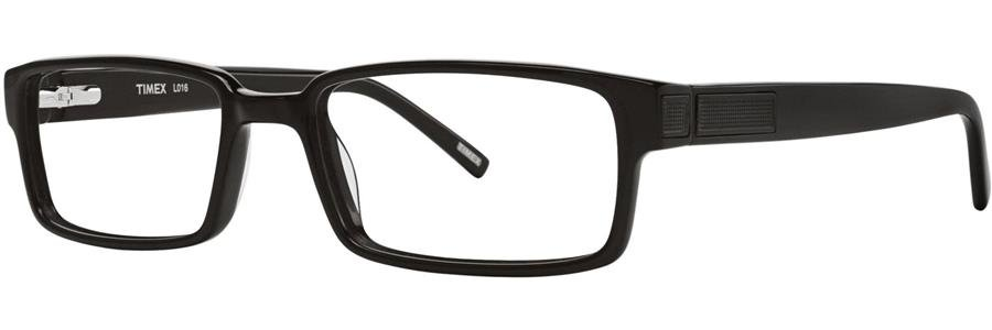 Timex L016 Black Eyeglasses Size57-18-140.00