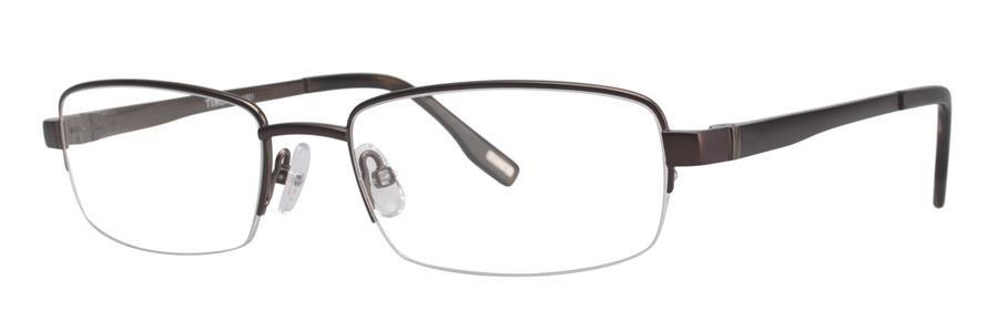 Timex L021 Brown Satin Eyeglasses Size57-19-145.00