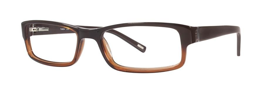 Timex L033 Brown Eyeglasses Size57-18-145.00