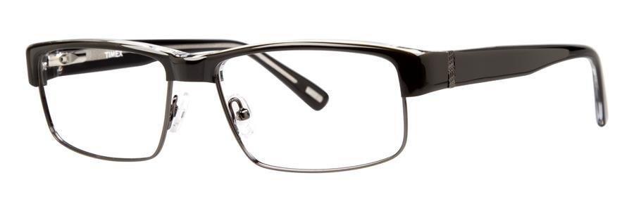 Timex L044 Black Eyeglasses Size58-16-145.00