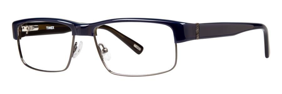Timex L044 Navy Eyeglasses Size56-16-140.00