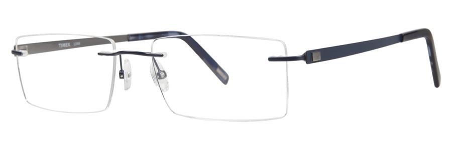 Timex L046 Navy Eyeglasses Size57-18-145.00