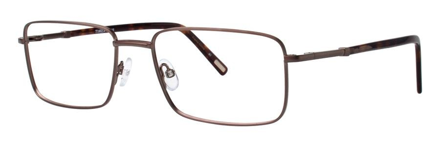 Timex L048 Brown Eyeglasses Size56-18-145.00