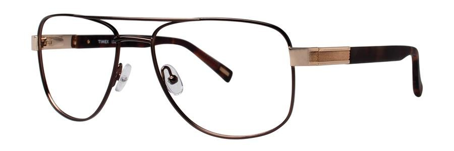 Timex L050 Brown Eyeglasses Size58-17-150.00