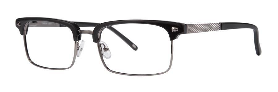 Timex L051 Black Eyeglasses Size55-19-140.00
