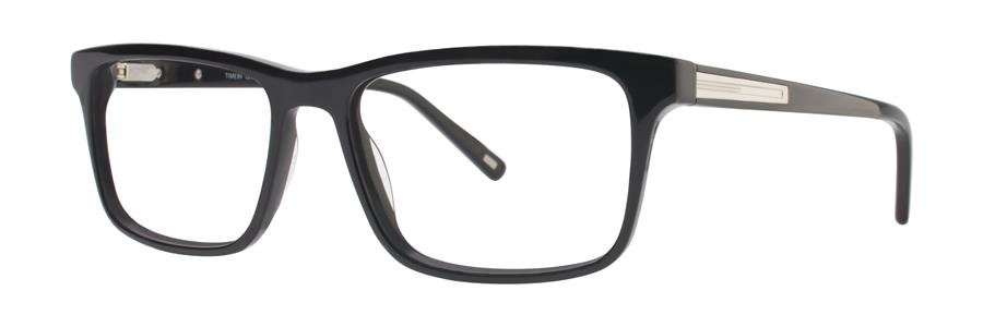 Timex L054 Black Eyeglasses Size57-18-150.00