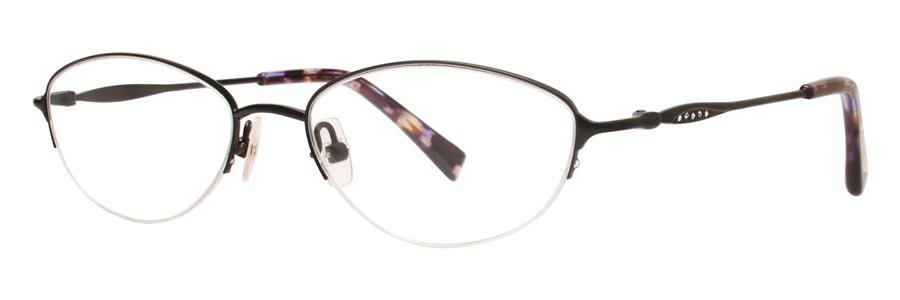 Vera Wang LACERTA Black Eyeglasses Size50-16-135.00