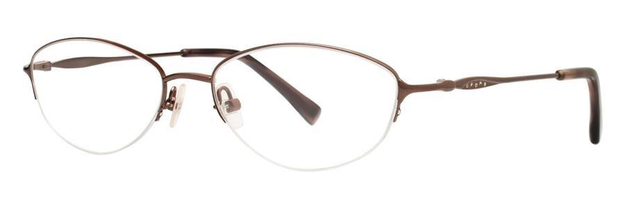 Vera Wang LACERTA Pecan Eyeglasses Size50-16-135.00