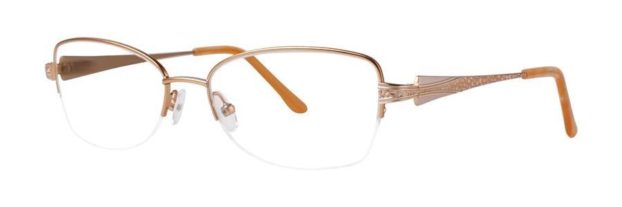 Dana Buchman LADA Gold Eyeglasses Size52-17-135.00