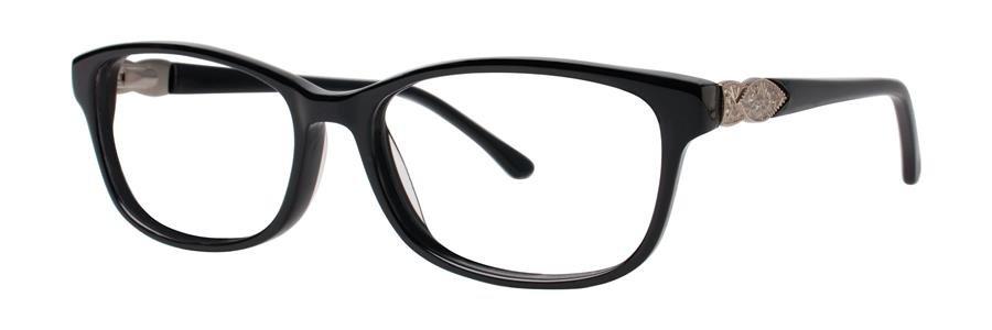 Dana Buchman LAINE Black Eyeglasses Size52-16-135.00