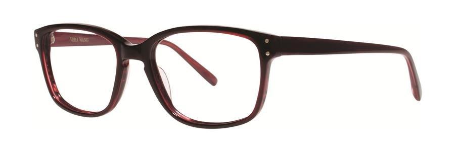 Vera Wang LANA Burgundy Eyeglasses Size50-17-137.00