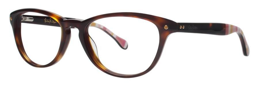 Lilly Pulitzer LANEY Tortoise Eyeglasses Size49-18-135.00