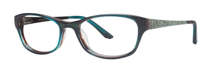 Dana Buchman LAUREL Amazon Green Eyeglasses Size52-16-135.00