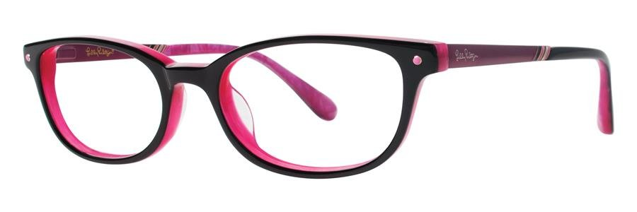 Lilly Pulitzer LEIGHTON Black Eyeglasses Size51-17-135.00
