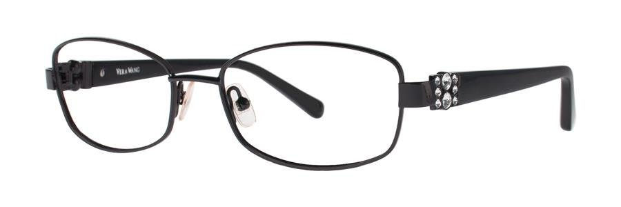 Vera Wang LEIRA Black Eyeglasses Size53-16-135.00