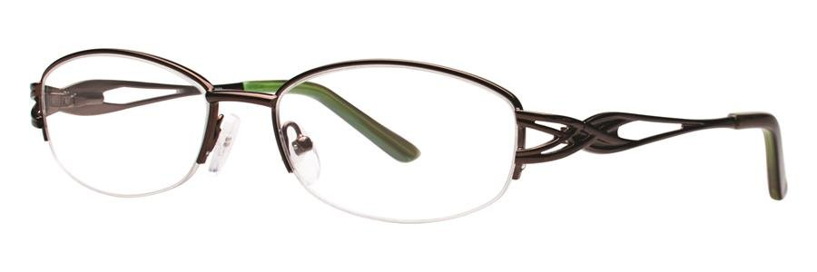 Destiny LEXINE Brown Eyeglasses Size53-16-135.00