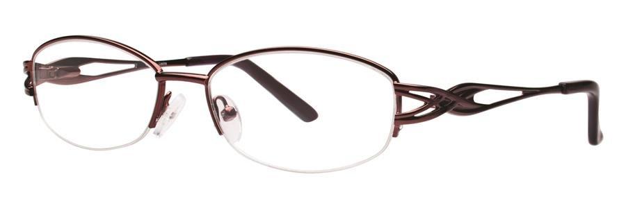 Destiny LEXINE Burgundy Eyeglasses Size51-16-130.00