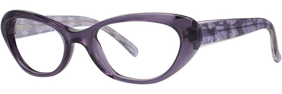 Vera Wang LINETTE Amethyst Eyeglasses Size52--135.00