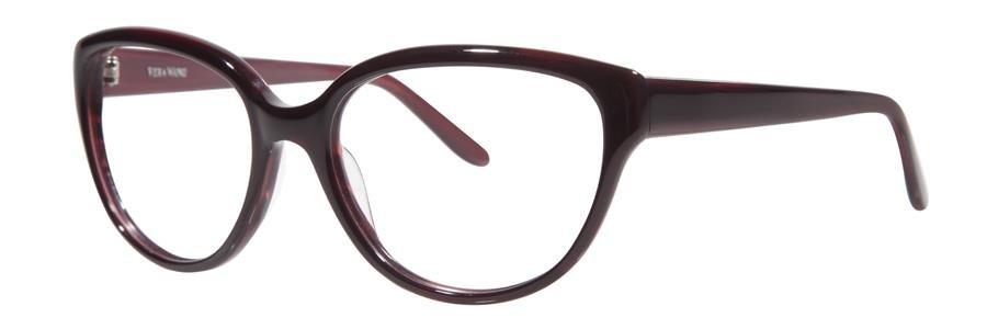 Vera Wang LISETTE Burgundy Eyeglasses Size53-17-138.00