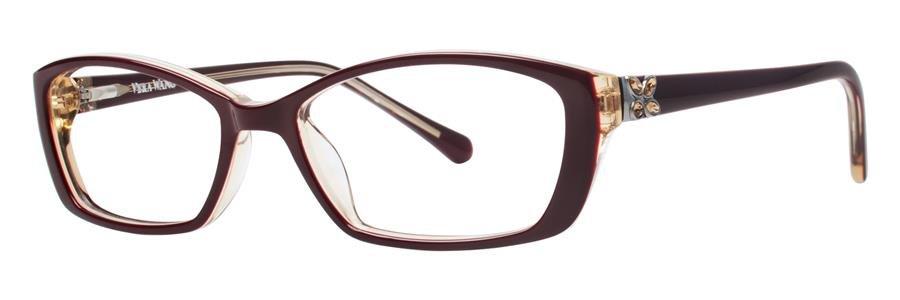 Vera Wang LISSOME Burgundy Eyeglasses Size51-16-135.00