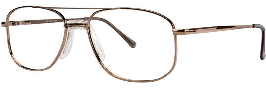 Gallery LLOYD Lt.Brown Eyeglasses Size55-17-140.00