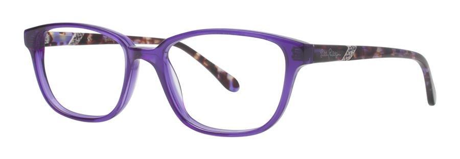 Lilly Pulitzer LOCKWOOD Purple Eyeglasses Size50-17-135.00