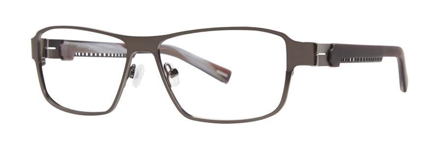 Jhane Barnes MACH Gunmetal Eyeglasses Size55-14-138.00