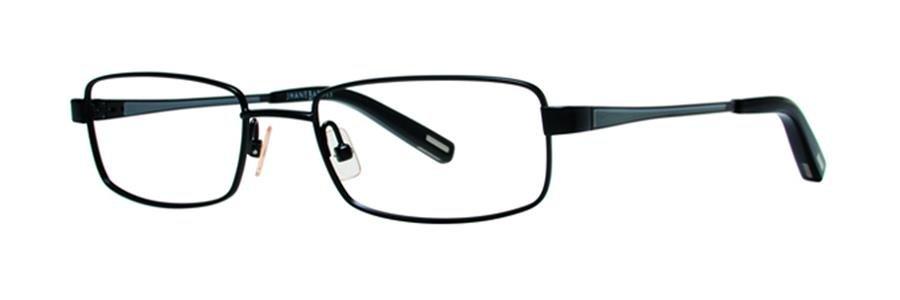 Jhane Barnes MACROS Black Eyeglasses Size51-18-135.00