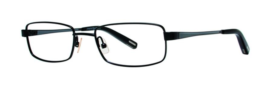 Jhane Barnes MACROS Black Eyeglasses Size53-18-140.00
