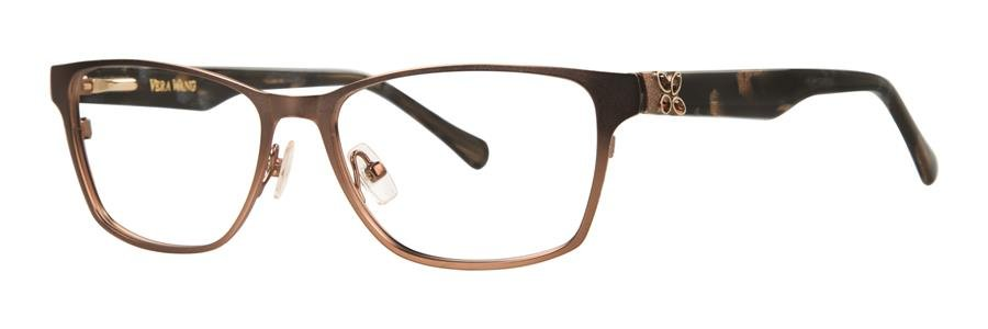 Vera Wang MADRI Brown Eyeglasses Size53-15-135.00