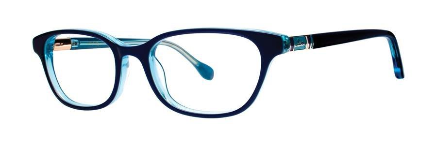 Lilly Pulitzer MAEVE Navy Eyeglasses Size49-17-135.00