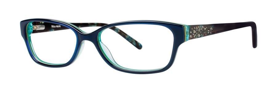 Vera Wang MAGNIFIQUE Navy Eyeglasses Size50-15-130.00