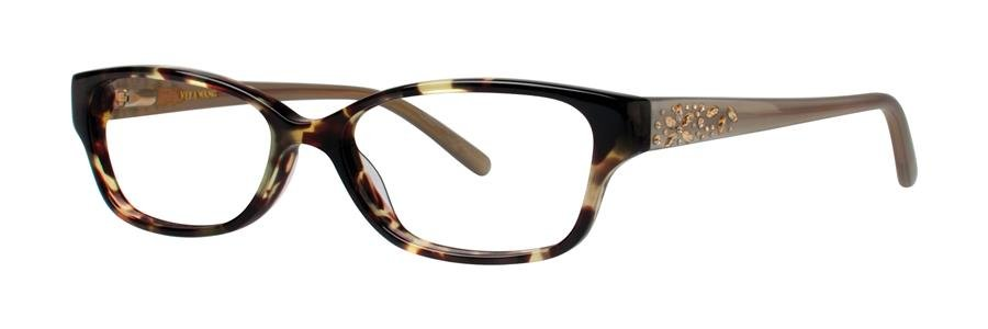 Vera Wang MAGNIFIQUE Tortoise Eyeglasses Size50-15-130.00