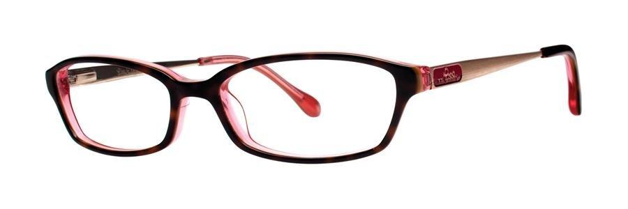 Lilly Pulitzer MAKENA Tortoise Eyeglasses Size52-16-140.00